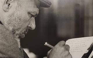 August Wilson writing