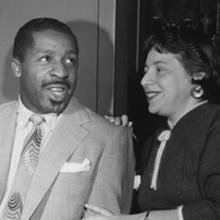 Erroll Garner and Martha Glaser