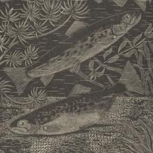 """Print called """"Spawning Trout"""" from the Nesbitt Collection"""