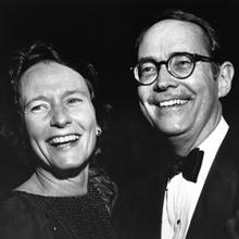 Ginny (wife) and Dick Thornburgh
